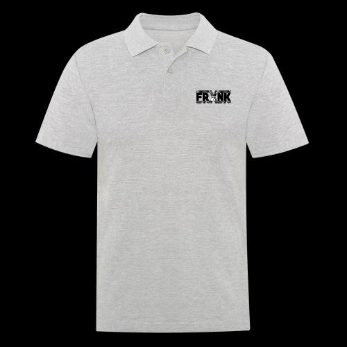 Grey Camo 'FRXNK' Logo - Men's Polo Shirt
