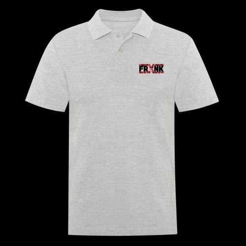 Red Camo 'FRXNK' Logo - Men's Polo Shirt