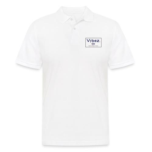 logoweiß - Männer Poloshirt
