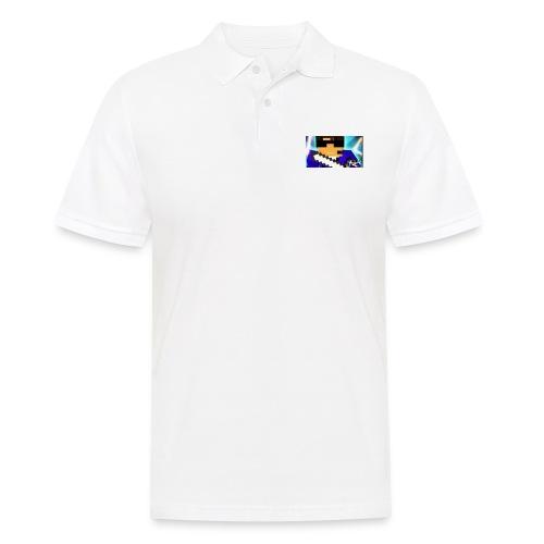 DAVID GAMING LOGO 2 - Männer Poloshirt
