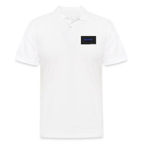 Schwarzes logo4 - Männer Poloshirt