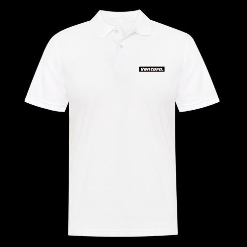 Ventura Black Logo - Mannen poloshirt