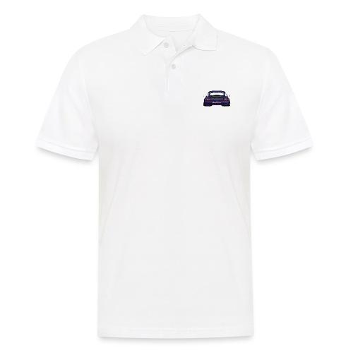 Magenta maritini Sports Car - Men's Polo Shirt