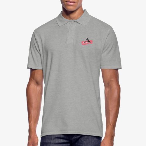 Matterhorn - Cervino - Color Coral - Men's Polo Shirt
