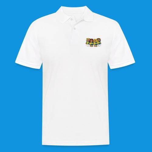 Abba Sweden Bears.png - Men's Polo Shirt