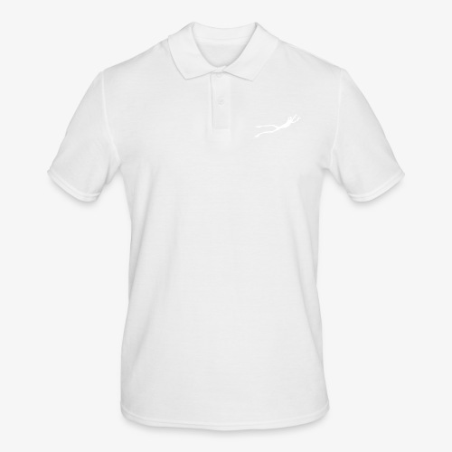 White Frog - Poloskjorte for menn