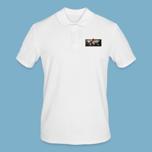homeland my base - Männer Poloshirt