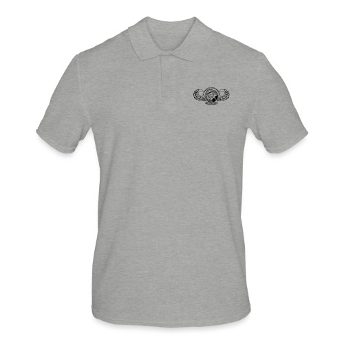 HAF tshirt back2015 - Men's Polo Shirt