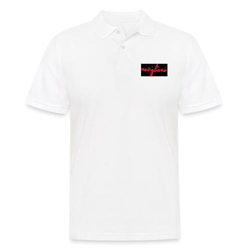 firm_red_black - Polo da uomo