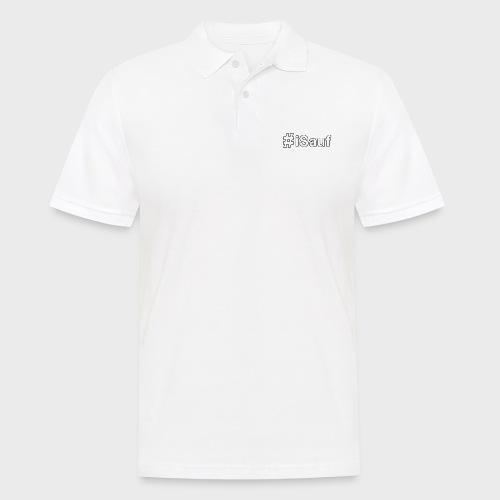 Hashtag iSauf klein - Männer Poloshirt