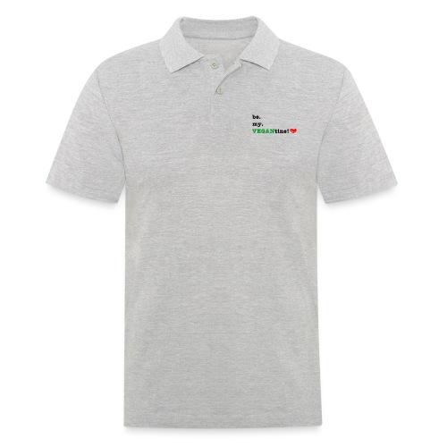 VEGANtine Green - Men's Polo Shirt