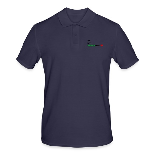 VEGANtine Green - Men's Polo Shirt