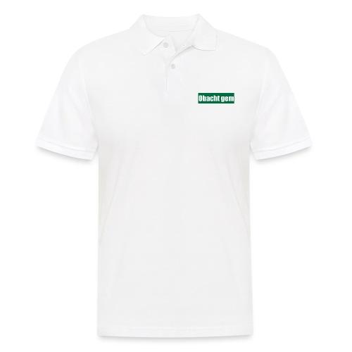 Obacht gem - Männer Poloshirt