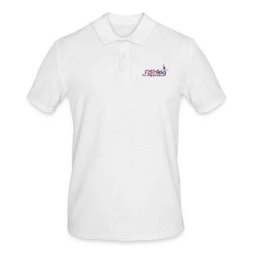 Fishing For Happiness - Men's Polo Shirt