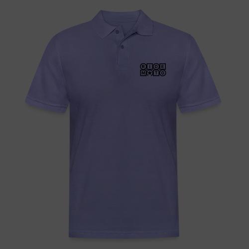 jeździć moto - Koszulka polo męska