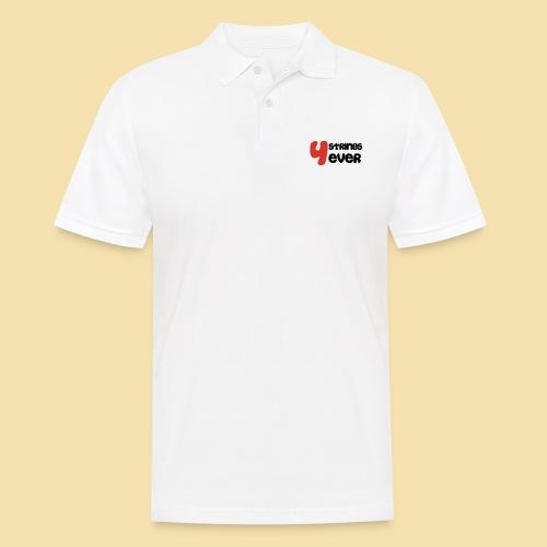 4 Strings 4 ever - Männer Poloshirt