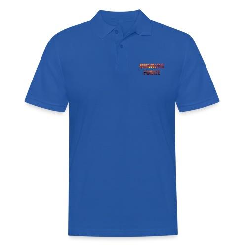 Logo-Shirt RUNNINGFORCE - Männer Poloshirt