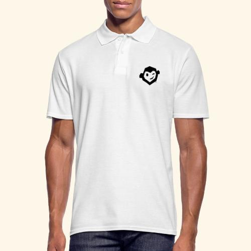 Uwe Kopf mono - Männer Poloshirt