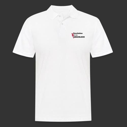 Gravitation Arschloch - Männer Poloshirt