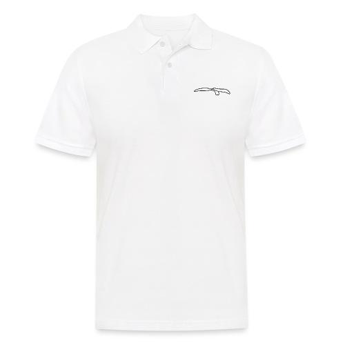 Walflosse-white - Männer Poloshirt