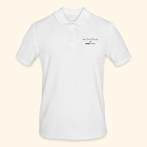 test_shop_design - Männer Poloshirt