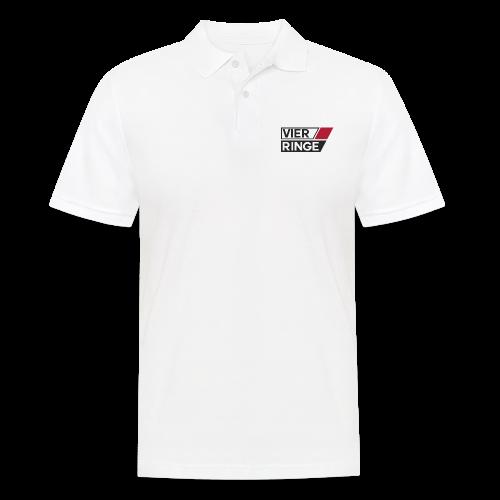 Vier-Ringe Logo - Männer Poloshirt
