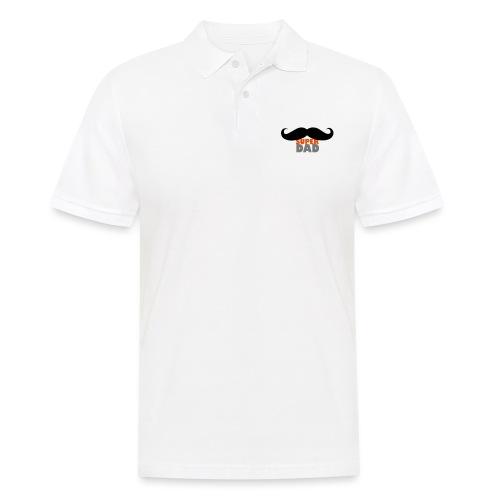 superdad moustache - Männer Poloshirt