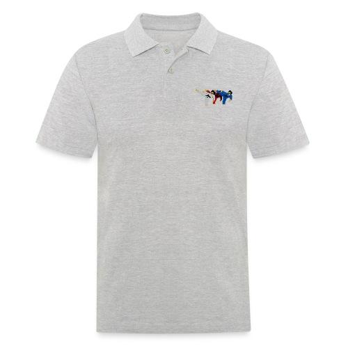 8 bit trip ninjas 2 - Men's Polo Shirt