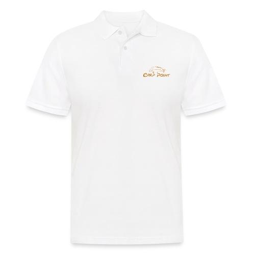 Carp Point orange mid - Männer Poloshirt