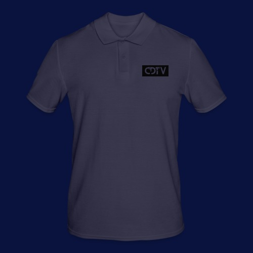 CDTV Box Logo - Men's Polo Shirt