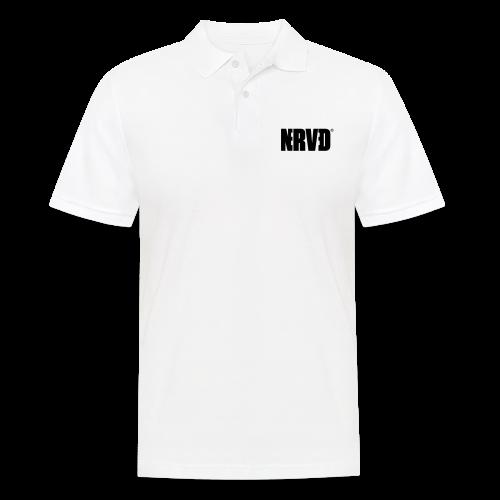 Official Nerved® Logo Black - Men's Polo Shirt