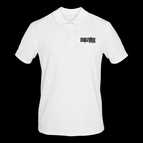 Ambigramm Martine 01 Pit Hammann - Männer Poloshirt