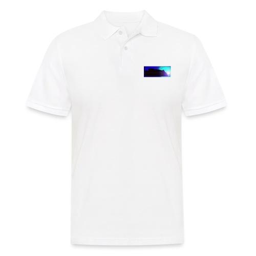 Silhouette of Edinburgh Castle - Men's Polo Shirt