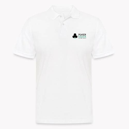 Poker Clock Logo - Männer Poloshirt