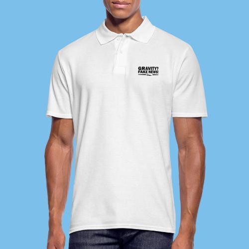 Schwerkraft Segelflieger Geschenk lustig - Männer Poloshirt