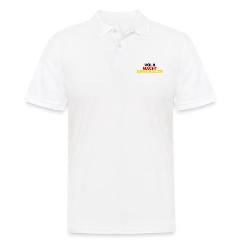 VOLK MACHT DEMOKRATIE - Männer Poloshirt