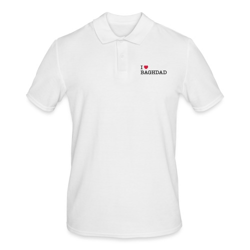 I LOVE BAGHDAD - Men's Polo Shirt
