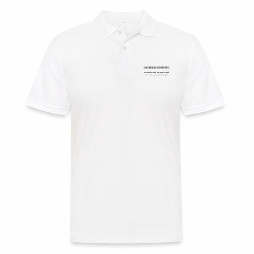 Grundregeln des Referendariats - Männer Poloshirt