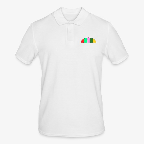 Metis rainbow logo - Men's Polo Shirt