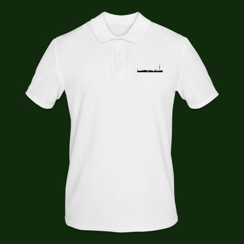 Berlin Skyline - Männer Poloshirt