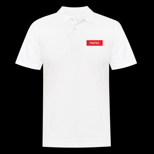 Paris - Utoka - Männer Poloshirt