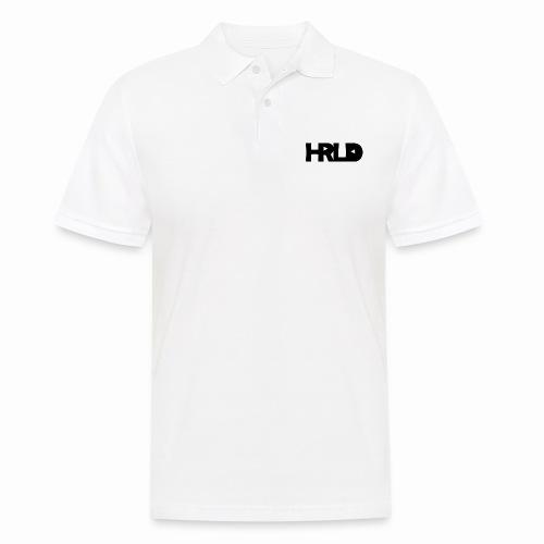 HRLD Black Logo - Miesten pikeepaita