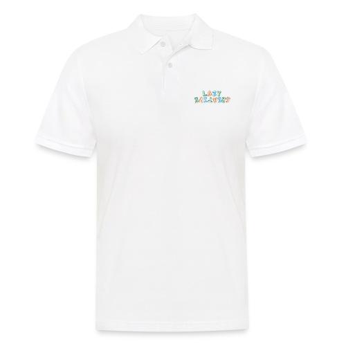LC PUM Org logo White - Pikétröja herr