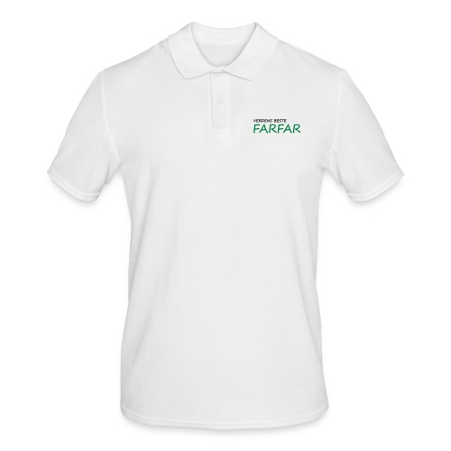 Verdens beste farfar - Men's Polo Shirt