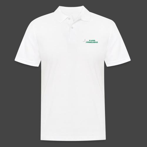 FarbFrequenz - Logo - Männer Poloshirt