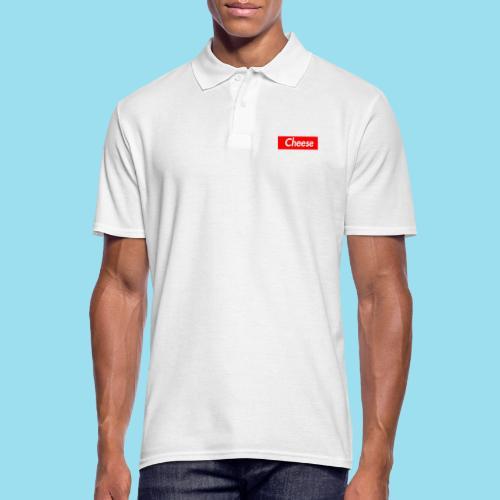 CHEESE Supmeme - Männer Poloshirt