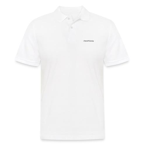 Casual-Gaming-Schriftzug - Männer Poloshirt