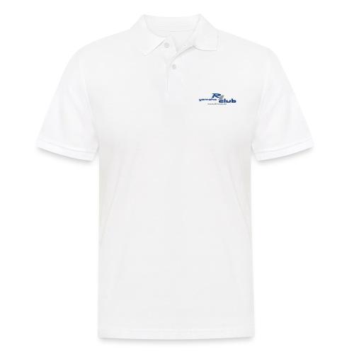 R1club Logo blau - Männer Poloshirt