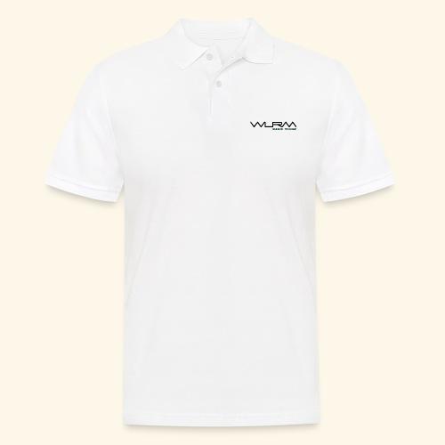 WLRM Schriftzug black png - Männer Poloshirt