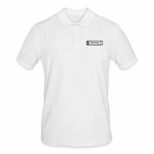 DERRY, NORTHERN IRELAND licence plate tags decal - Men's Polo Shirt